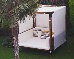 bahçe mobilyası, otel, havuz, deniz