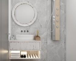 banyo dolabı