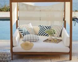 bahçe mobilya, dış mekan mobilya, deniz, havuz, otel